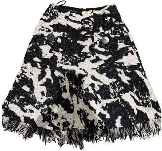 Neil Barrett Black Cotton Skirt for Women