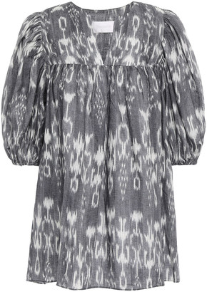Zimmermann Printed Linen Tunic