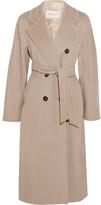 Max Mara Madame 101801 Wool And Cashmere-blend Coat - Beige