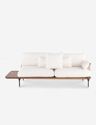 Lulu & Georgia Chambley Sofa, Light Oak