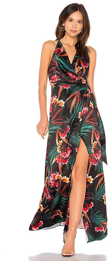 Style Stalker STYLESTALKER Evelyn Wrap Dress