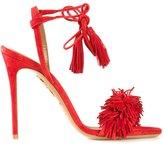 Aquazzura 'Wild Thing' sandals - women - Leather/Suede - 38.5