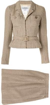 Chanel Pre-Owned Set Up Suit Jacket Skirt