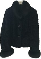 Marella Black Rabbit Jacket for Women