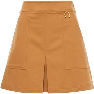 A.L.C. Embellished Cotton-blend Crepe Mini Skirt