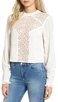 Band of Gypsies Women's Lace Front Top