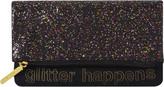 Tartan + Twine Glitter Happens Fold Over Clutch