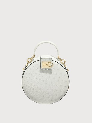 Salvatore Ferragamo Women round Studio bag White