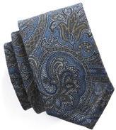 Todd Snyder Paisley Silk Wool Tie