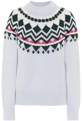 Tory Sport Merino wool-blend sweater