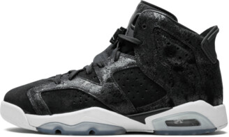 Jordan Air 6 Retro PREM HC GG 'Heiress - Black Suede' Shoes - Size 9.5Y