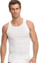 Jockey Men's Big & Tall Classic Ribbed Tagless A-Shirt 2 Pack