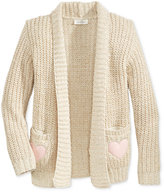 Jessica Simpson Julie Cardigan Sweater, Girls (7-16)
