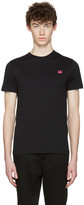 McQ by Alexander McQueen Black Swallow Patch T-Shirt