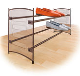 Lynk Expandable Mesh Shoe Rack