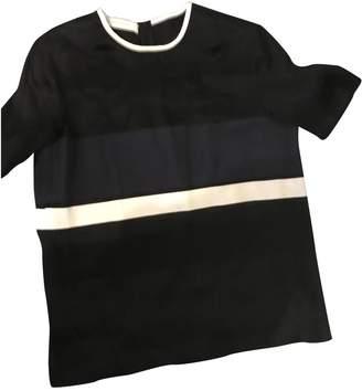 Cédric Charlier Black Silk Top for Women