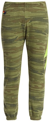 Aviator Nation Camo Bolt Stitch Sweatpants