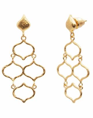 Gurhan Small Trellis Chandelier Earrings