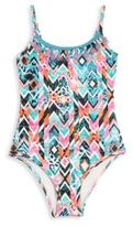 OndadeMar Toddler's, Little Girl's & Girl's One-Piece Prisma Swimsuit