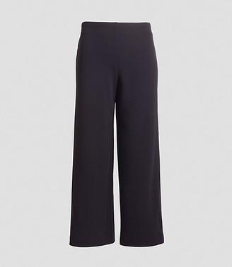 LOFT Tall Pull On Wide Leg Pants