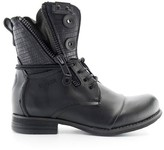 Bunker Por Leather Ankle Boots