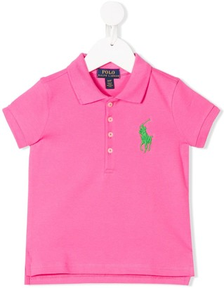Ralph Lauren Kids Embroidered Logo Polo Shirt
