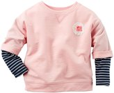Carter's Knit Top (Toddler/Kid) - Pink - 7