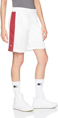 "Starter Women's 10"" Mesh Short with Side Panel Amazon Exclusive"