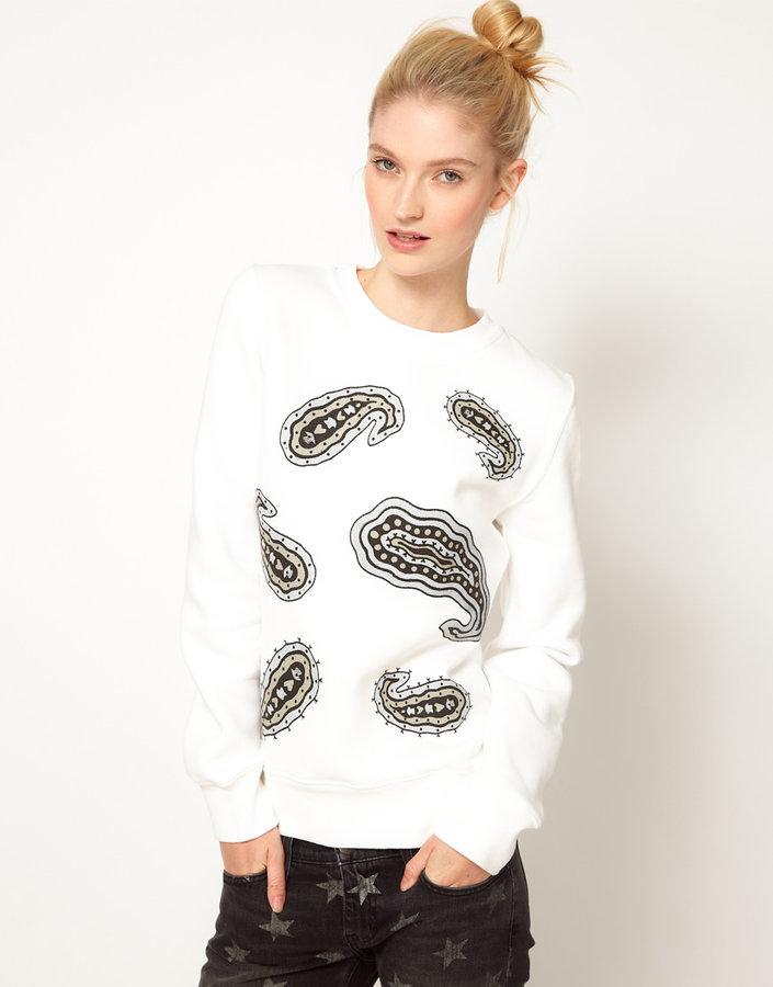 J.W.Anderson Paisley Print Sweatshirt