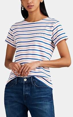 """Maison Labiche Women's """"Out Of Office"""" Striped Cotton T-Shirt"""