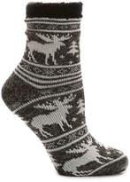 Sof Sole Women's Moose Women's Slipper Socks