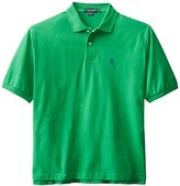 U.S. Polo Assn. Men's Big-Tall Solid Polo With Small Pony