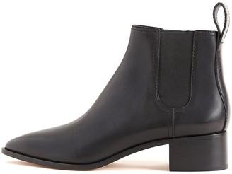 Loeffler Randall Nellie Block Heel Chelsea Boot in Black