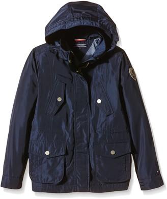Tommy Hilfiger Girl's Aimee Nylon Parka Coat