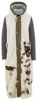 Plan C Shearling coat