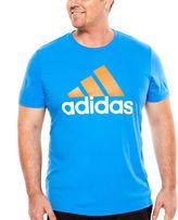 adidas Adilogo Short-Sleeve Graphic Tee - Big & Tall