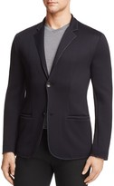 Armani Collezioni Herringbone Texture Regular Fit Sport Coat