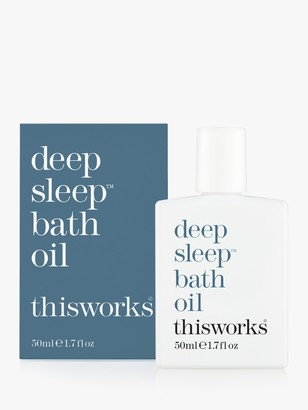 thisworks® This Works Deep Sleep Bath Oil, 50ml
