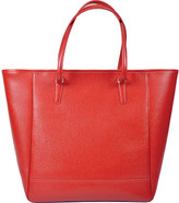 Royce Leather Women's Charlotte Saffiano Tote Bag