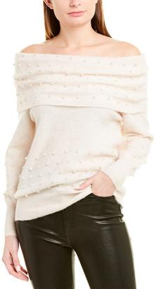 Mason by Michelle Mason Off-The-Shoulder Wool & Alpaca-Blend Sweater