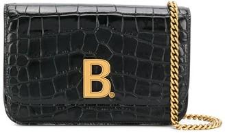Balenciaga B crossbody bag