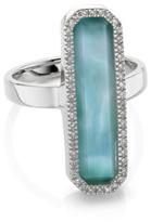 Monica Vinader Naida Rectangle Ring