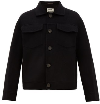 Acne Studios Dagnite Boiled-wool Jacket - Black