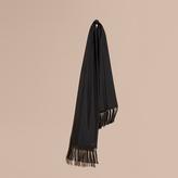 Burberry Tasselled Silk Scarf