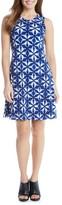 Karen Kane Women's Kaleidoscope Tie Dye A-Line Dress