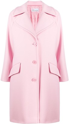 RED Valentino Single-Breasted Coat