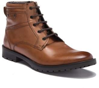 GBX Bomont Leather Plain Toe Lace-Up Boot