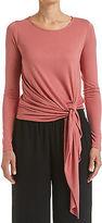 Sportscraft NEW WOMENS Signature Faretta Long Sleeve Tie Tee Tops & Blouses