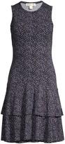 MICHAEL Michael Kors Boutique Bloom Flounce Dress