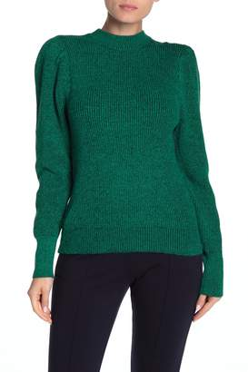 Free Press Plaited Puff Sleeve Sweater